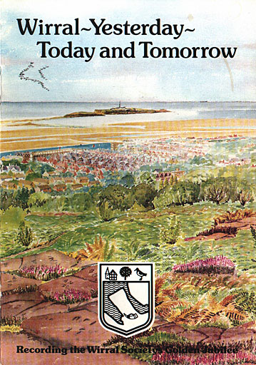 """Wirral Yesterday Today And Tomorrow"" booklet cover"