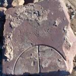Stone from possible Lime kiln building, Thurstaston
