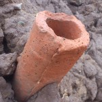 Possible drainage pipe