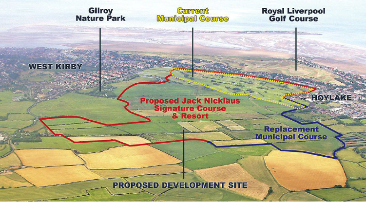 Potential Hoylake Golf Resort Location