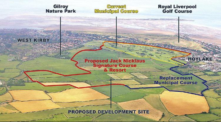 Potential Hoylake Golf Resort Location