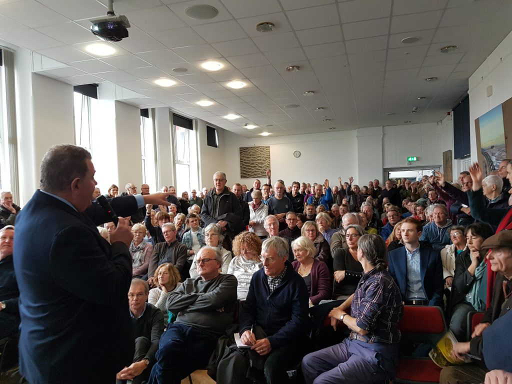 Hoylake Golf Resort Public Meeting, December 2017